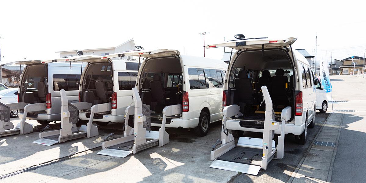 福祉車両リース|山形・福島・宮城で福祉車両を改造するなら福祉車両専門店らぷれす></p> <p class=