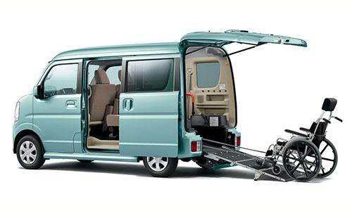 エブリイワゴン 車いす移動車|山形・福島・宮城で福祉車両を改造するなら福祉車両専門店らぷれす