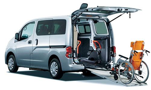 NV200バネット チェアキャブ|山形・福島・宮城で福祉車両を改造するなら福祉車両専門店らぷれす