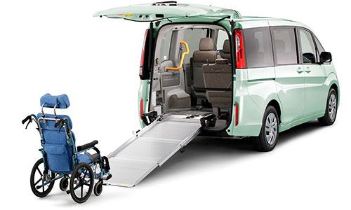 ステップワゴン 車いす仕様車|山形・福島・宮城で福祉車両を改造するなら福祉車両専門店らぷれす