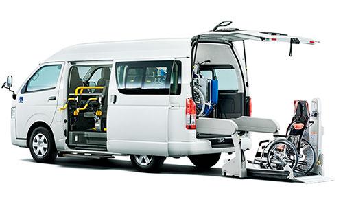 ハイエース ウェルキャブ|山形・福島・宮城で福祉車両を改造するなら福祉車両専門店らぷれす